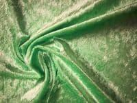 Crushed Velvet Velour Fabric Material - MINT